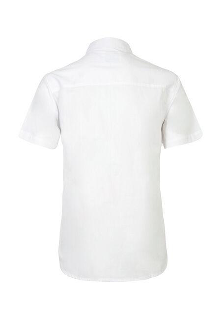 Men's Textured Shirt, WHITE, hi-res