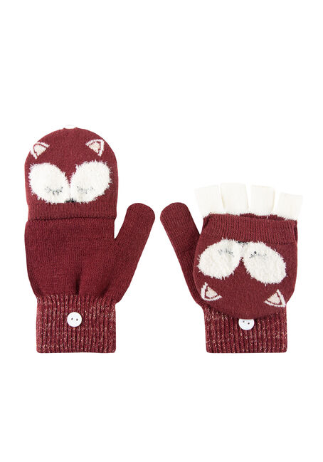 Women's Fox Flip Mittens