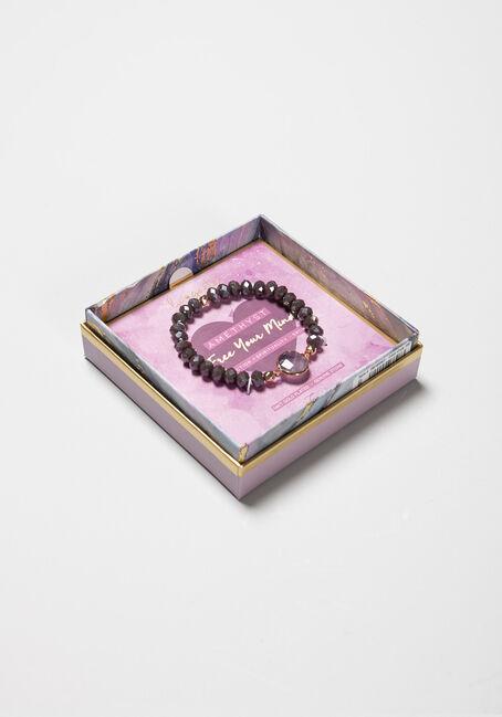 Women's Amethyst Bracelet, PURPLE, hi-res