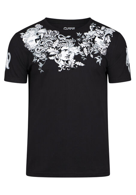 Men's Medusa Flocked Graphic Tee