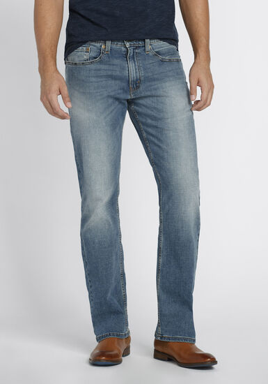 Men's Relaxed Fit Jeans, LIGHT WASH, hi-res
