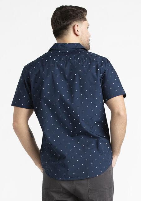 Men's Sailboat Shirt, NAVY, hi-res