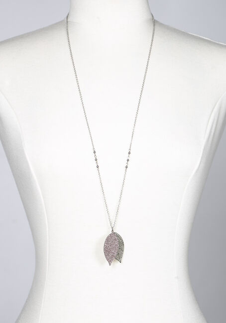 Women's Filigree Leaf Necklace