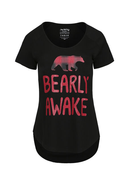 Ladies' Bearly Awake Sleep Tee