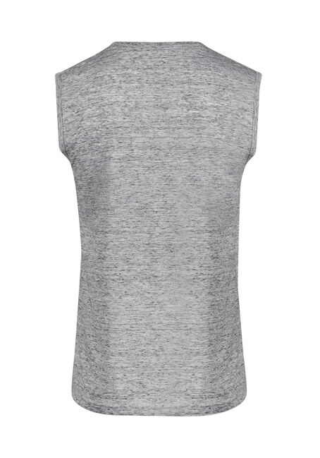 Men's Everyday Space Dye Tank, HEATHER GREY, hi-res