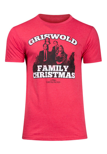Men's Griswold Family Christmas Tee
