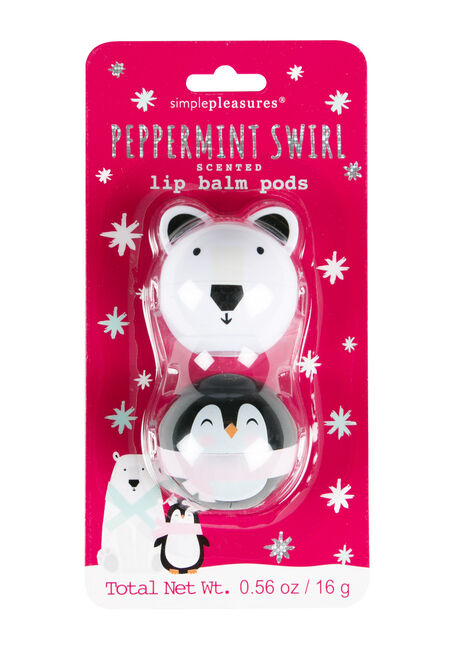 Peppermint Lip Balm Set