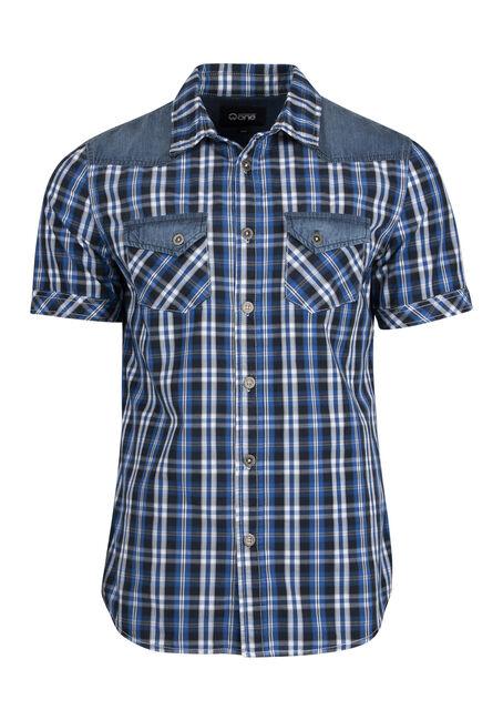 Men's Western Plaid Shirt