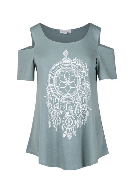 Women's Dreamcatcher Cold Shoulder Tee