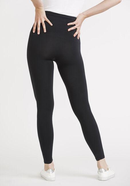 Women's High Waist Shape Wear Legging, BLACK, hi-res