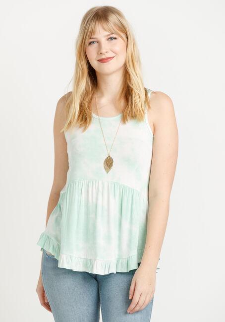 Women's Tie Dye Babydoll Tank