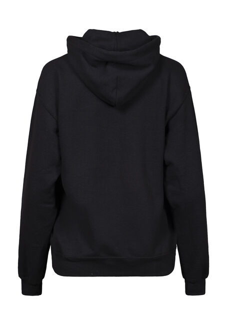 Women's If It's Snowing Hoodie, BLACK, hi-res