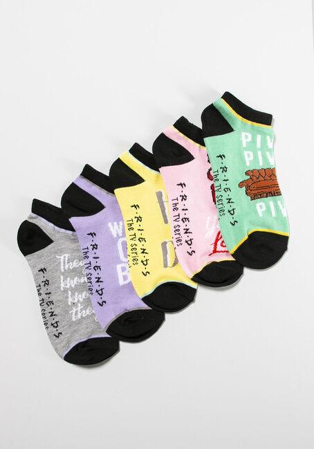 Women's 5 Pair Friends Socks