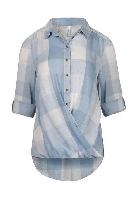 Women's Draped Hem Shirt