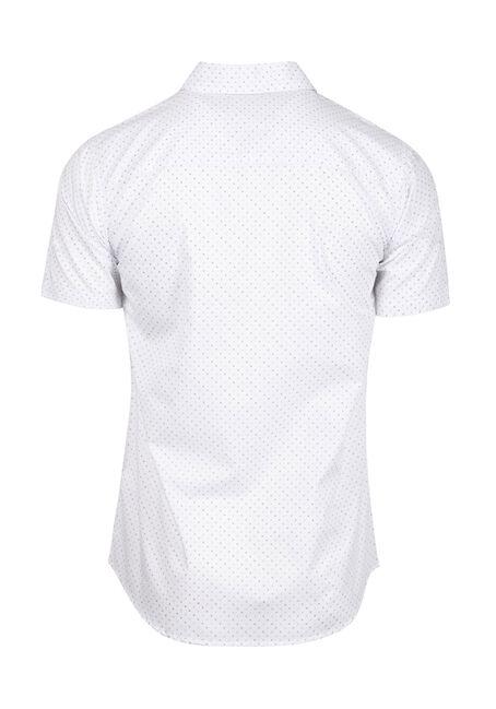 Men's Mini X Print Shirt, WHITE, hi-res