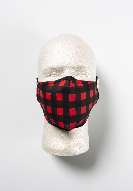 Plaid Face Mask