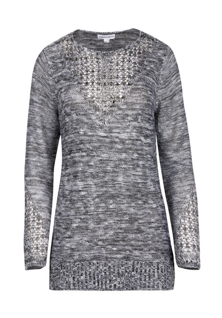 Ladies' Pointelle Sweater