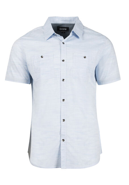 Men's Stripe Textured Shirt
