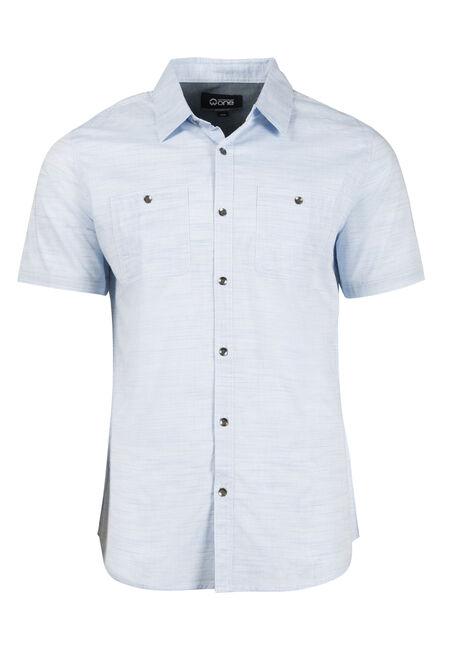 Men's Stripe Textured Shirt