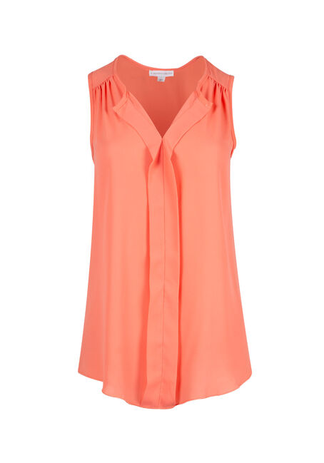 Ladies' Pleat Front Tank