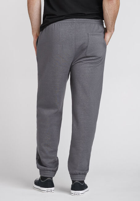 Men's Fleece Jogger, ASH, hi-res