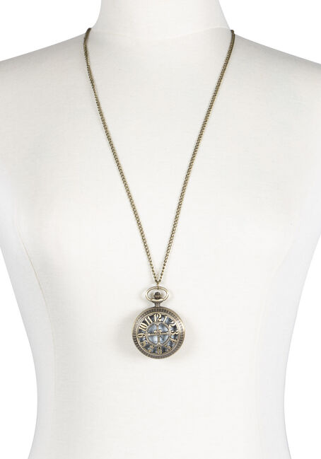 Ladies' Pocket Watch Necklace