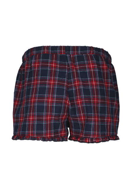 Ladies' Lounge Short, RED/NAVY, hi-res