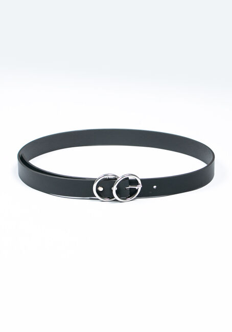 Women's Double O Buckle Belt