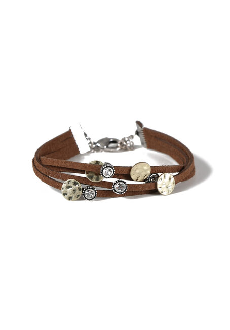 Ladies' Faux Suede Bracelet