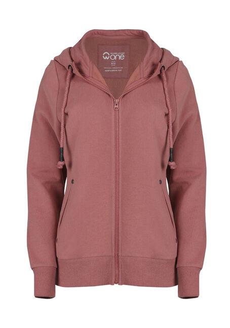Ladies'  Zip Front Hoodie