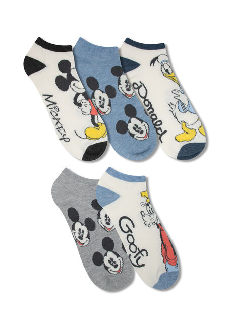 Men's 5 Pair Disney Socks