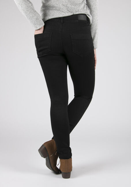 Ladies' Jeggings, BLACK, hi-res