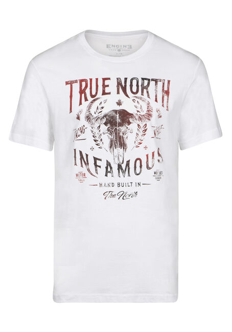 Men's True North Skull Tee