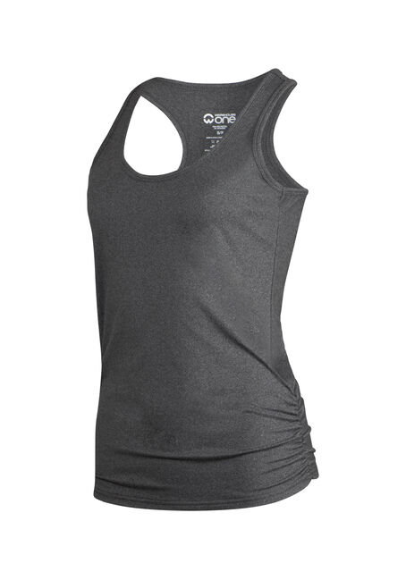 Women's Super Soft Tank, CHARCOAL, hi-res