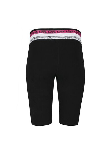Ladies' Love Bermuda Short, BLACK, hi-res