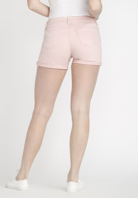 Women's Coloured Not-So-Short Short, PINK, hi-res