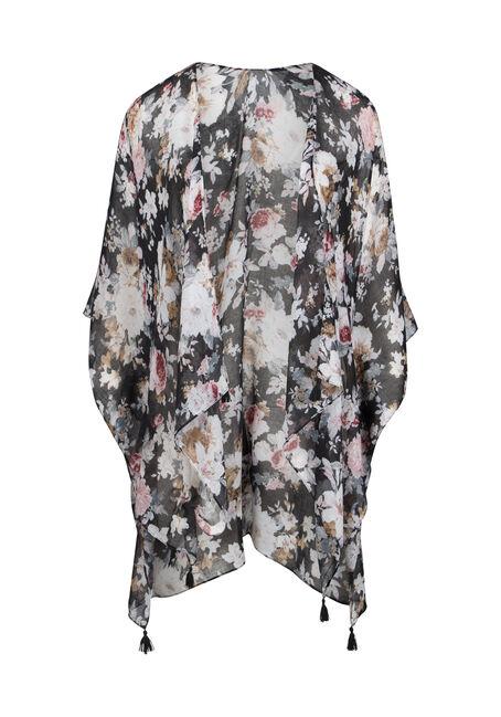 Women's Floral Print Kimono