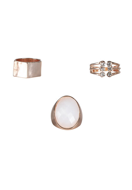 Ladies' Trio Ring Set