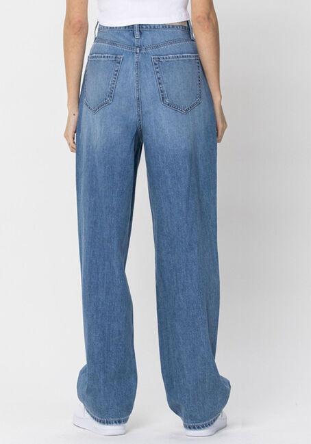 Women's High Rise 90's Baggy Jeans, MEDIUM WASH, hi-res