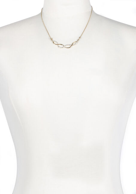 Ladies' Short Swirl Necklace