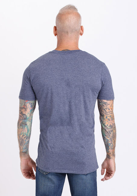 Men's Hold Fast Anchor Tee, HEATHER NAVY, hi-res