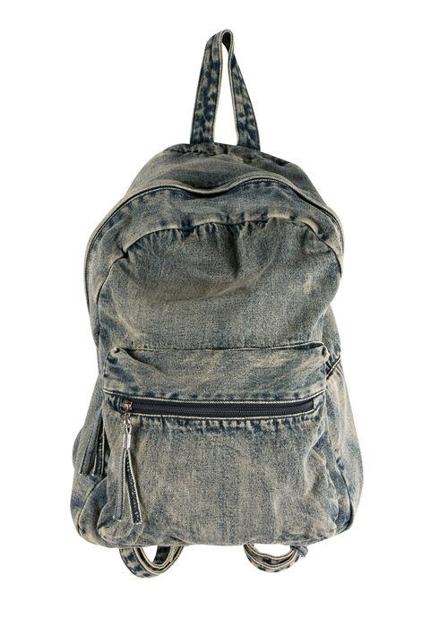 Ladies' Denim Backpack, MEDIUM WASH, hi-res