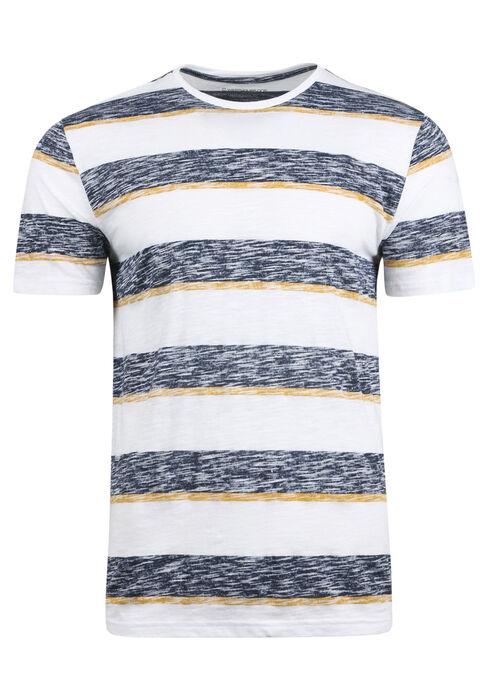 Men's Everyday Striped Tee, GOLDEN, hi-res