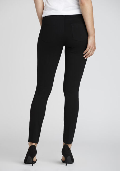 Ladies' Pull On Skinny Pants, BLACK, hi-res