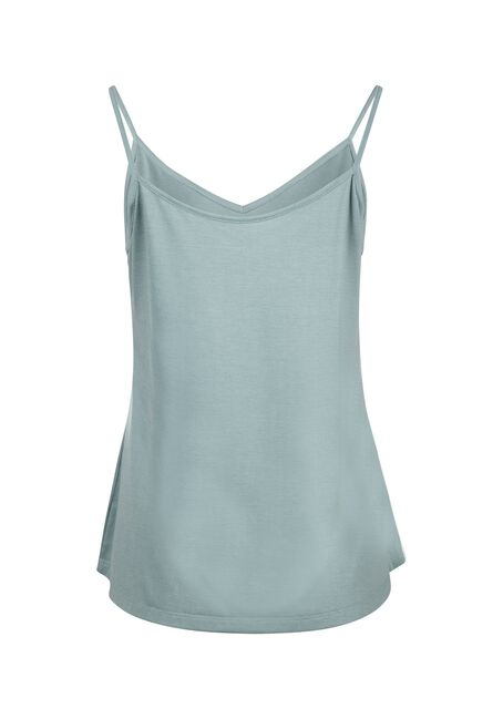 Women's Reversible Relaxed Strappy Tank, SAGE, hi-res