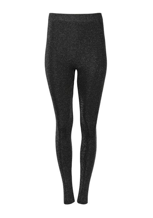 Women's Glitter Legging, SILVER, hi-res