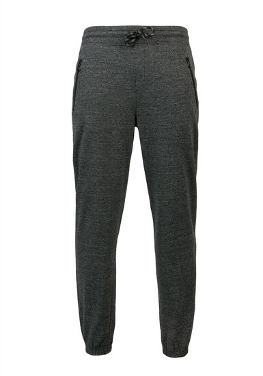 French Terry Jogger, CHARCOAL, hi-res