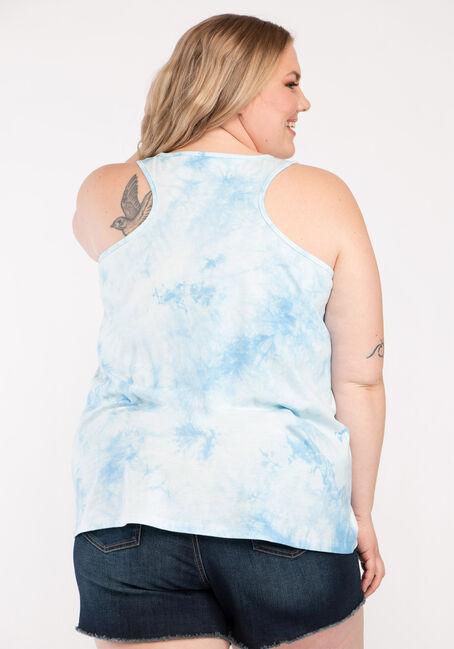 Women's Lake Life Tie Dye Tank, MULTI, hi-res