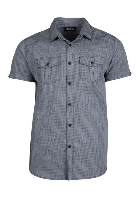 Men's Relaxed Printed Shirt