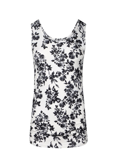 Womens's Super Soft  Floral Print Tank